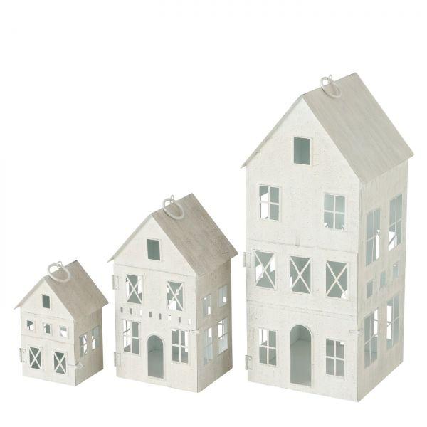 Laterne Kadenza, Haus, Indoor, H 35,00 cm, B 14,00 cm