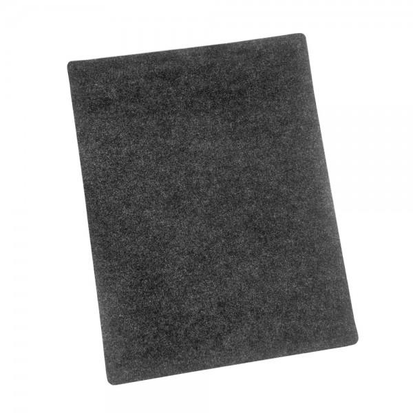 Grillunterlage BBQ 120x90 cm uni anthrazit (990065)