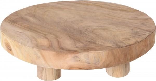 Tisch Mini Teak D:30 x H:7cm
