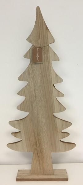 Weihnachtsbaum Kjell Tannenbaum Deko Holz natur 30 cm