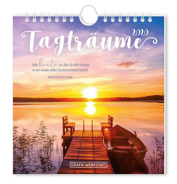 Postkartenkalender 2020 Tagträume