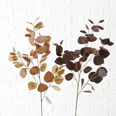 Dekozweig Dichondra, 2 sort., Indoor, H 95 cm, Plastik, Farbmix