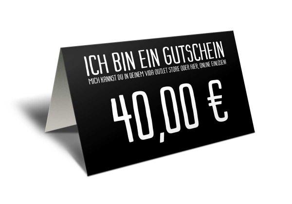 Gutschein 40 Euro