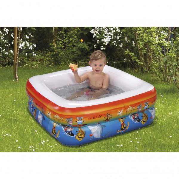 Baby Duschpool Kinderpool Planschbecken Schwimmbecken Down Under 85 x 85 x 33 cm