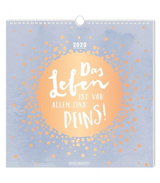 Wandkalender 2020 Das Leben