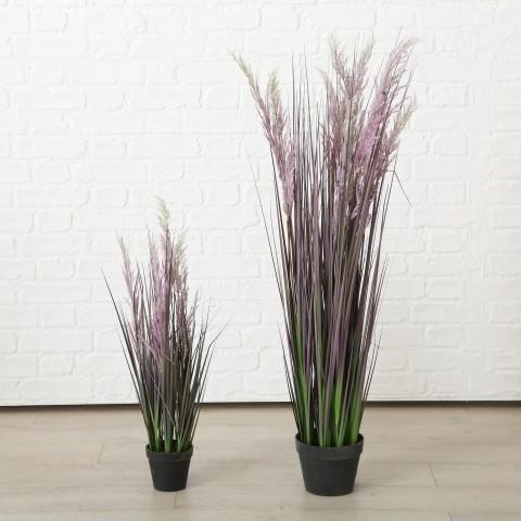 Gras i/Topf H80cm Kunststoff