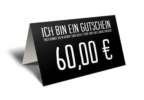 Gutschein 60 Euro
