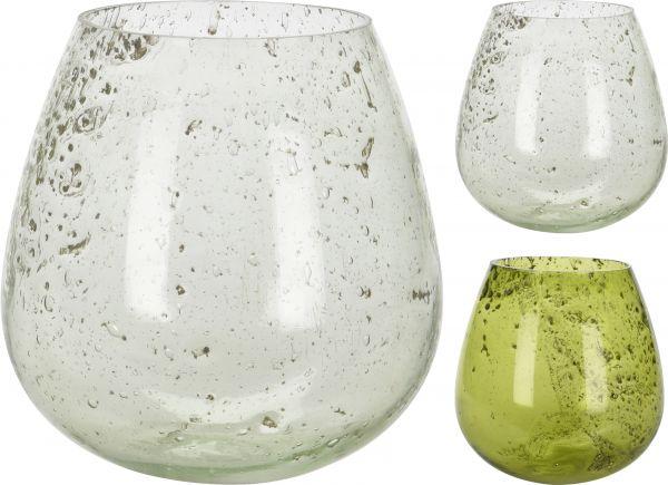 TEELICHTHALTER GLAS 12X13 CM