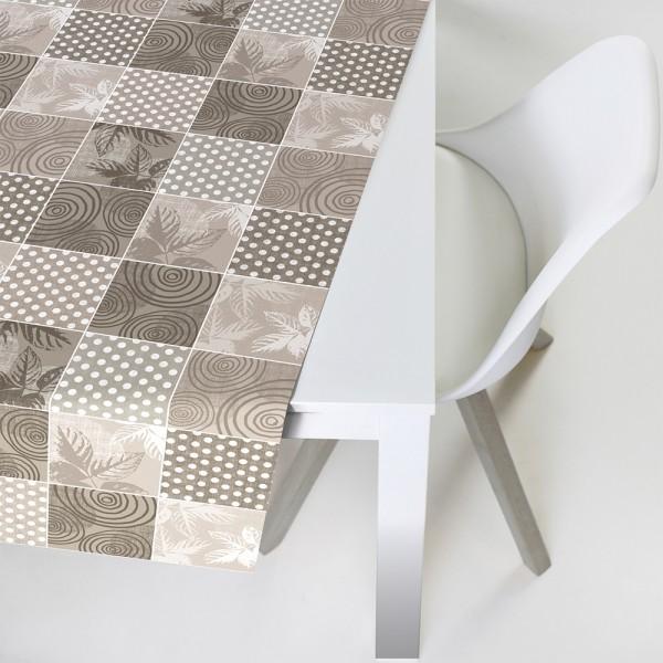 Tischbelag Vida Style Plus Patch fawn Meterware 140 cm