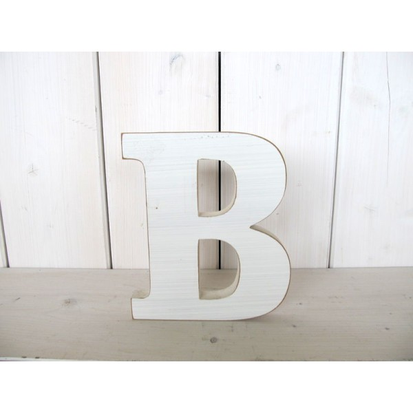 holz deko buchstaben schrift wei abc alphabet einzeln bestellbar ca 14x18x2 cm ebay. Black Bedroom Furniture Sets. Home Design Ideas