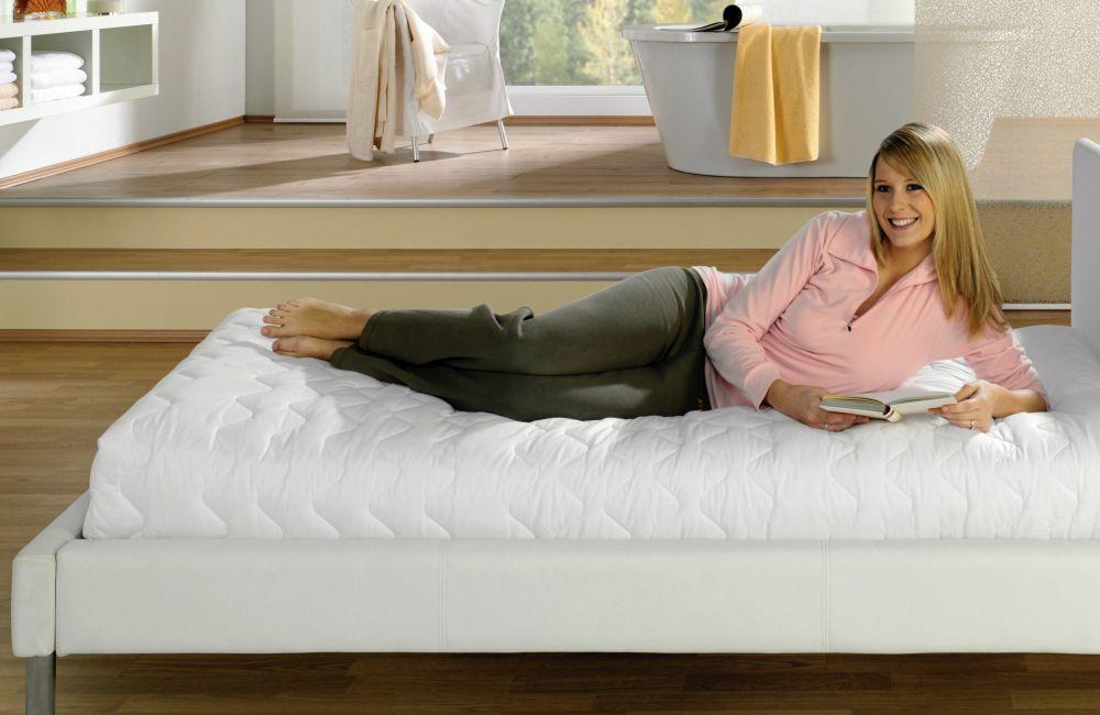 premium matratzenschonbezug matratzenschoner matratzenbezug 160 x 200 cm ebay. Black Bedroom Furniture Sets. Home Design Ideas